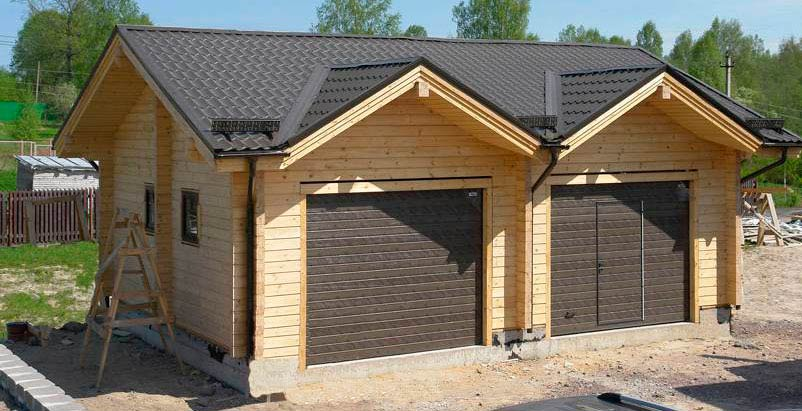 Кирпичный дом с гаражом под ключ